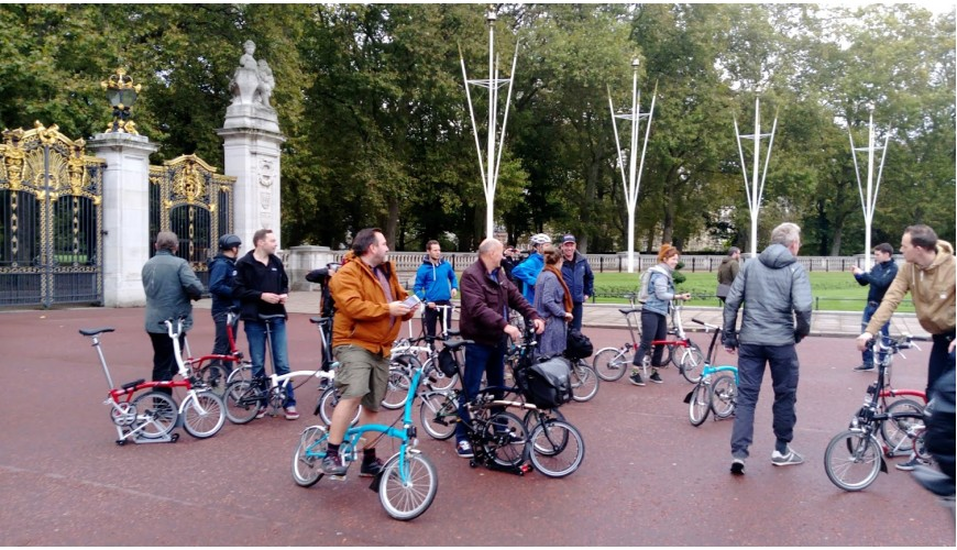 Naar Brompton in London