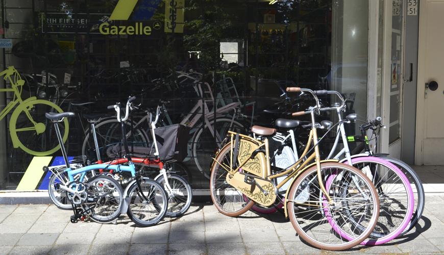 De gewoonste fietsenwinkel van Tilburg
