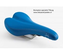 Brompton zadel exl pentaclip blauw