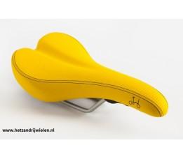 Brompton Zadel excl pentaclip geel