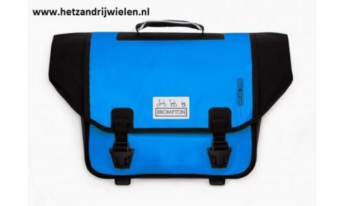 Brompton O bag blauw zonder bagageclip