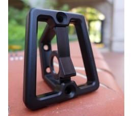 Brompton bagageclip H&H Aluminium Zwart