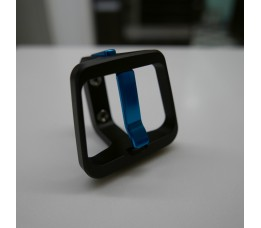Multi-S bagageclip zwart/lagoonblauw