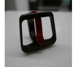 Multi-S bagageclip Zwart/rood