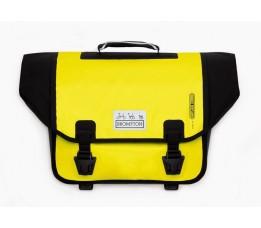 Brompton O Bag aanbieding geel zonder bagageclip