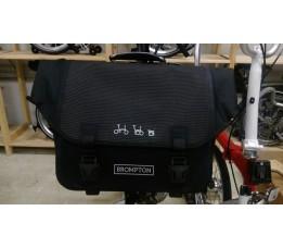 Brompton O Bag Reflective Black zonder bagageclip