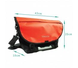 Brompton Messenger bag Rood