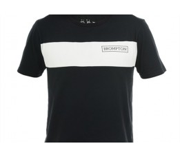 Brompton T shirt Zwart, M