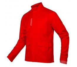 Brompton London waterproof Jacket Red MT L