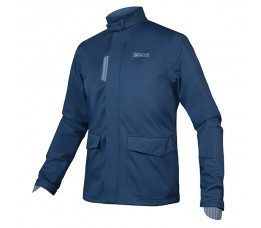 Brompton London Waterproof Jacket Navy L