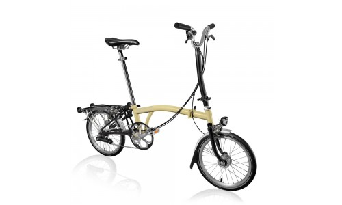 Brompton H6R+SHI+ZPX, Ivoorwit/black