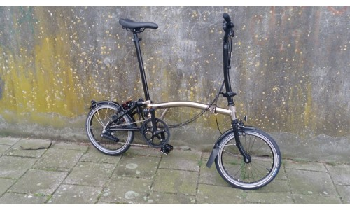 Brompton BE H6LN Nickel Edition, , Nickel/Black