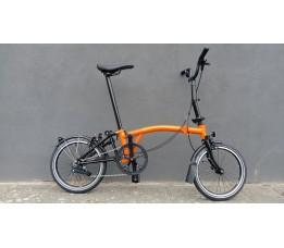Brompton BE M2L , Oranje/Zwart