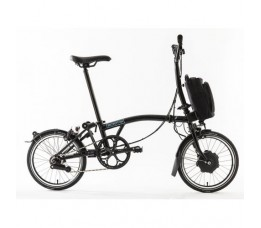 Brompton Electric H6L, Black