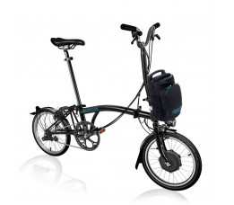 Brompton Electric H6L+ZPX, Black