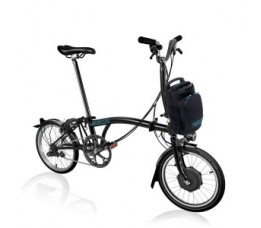 Brompton Electric M6Ln , black