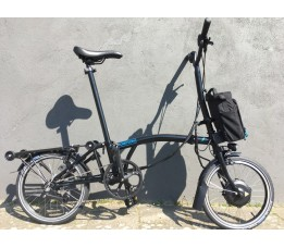 Brompton Electric H6R+zpx, Black