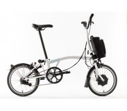 Brompton Electric M6L, White