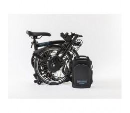 Brompton Electric H6l+SPT, Black/black