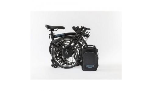 Brompton Electric H6l+SPT, Black/black