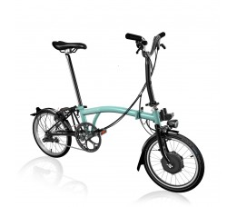Brompton Electric m6l, turkisch green