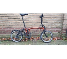 Brompton BE S6L, Flame Laquer