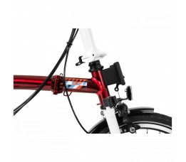 Brompton Team GB 2020 / 2021 Olympic Limited, Laquer Red/White/Tempblue